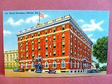 Postcard GA Athens Hotel Georgian