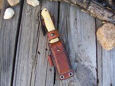 Bark River Knives Bravo 1 LF Custom Leather Survivor Sheath
