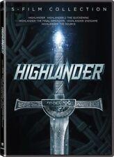 Highlander TV Series Season DVD Box Set 5 Movie Collection Brand New Sealed