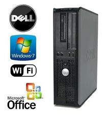 DELL System Quad-Core 2.33GHz 512GB SSD 8GB Win 7 PRO DUAL MONITOR SUPPORT(DVI)