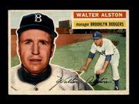 1956 Topps Baseball #8 Walt Alston MG RC (Dodgers) NM
