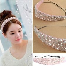 Women Lady&039;s Elastic Hairband Crystal Headband Hair Head Band Hair Accessories