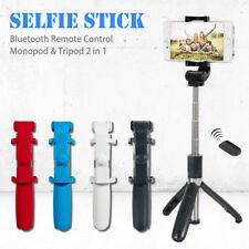 Wireless Bluetooth Selfie Stick Extendable Monopod Tripod For iPhone X Samsung
