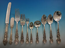 Moselle by International Grapes Plate Silverplate Flatwre Set 12 Service 131 Pcs