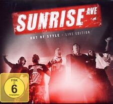 "SUNRISE AVENUE ""OUT OF STYLE (LIVE EDITION)""  CD+DVD NEU"
