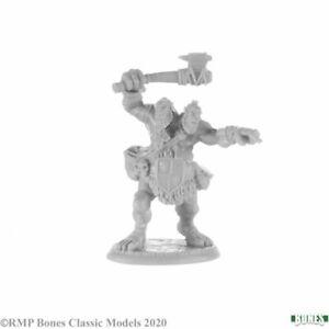 ETTIN Reaper Dark Heaven Bones Miniatures REM77706 D&D