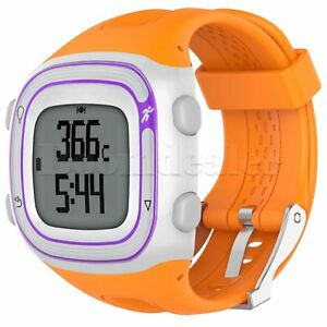 Silicone Wrist Band for Garmin Forerunner 10/15 GPS Running Watch Replacement SL