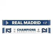 Bufanda Adidas Real Madrid Campeón 12 UCL 2017 White