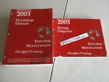 2003 FORD Explorer Mountaineer Wiring Diagrams & Service Manuals Manual OEM