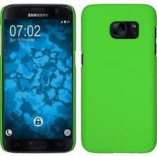 Funda Rígida Samsung Galaxy S6 Active - goma verde protector de pantalla