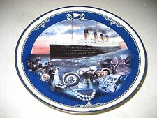 TITANIC QUEEN OF THE OCEAN #1 MAIDEN VOYAGE Plate COA MIB 1998