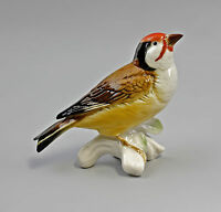 9941524 Porzellan Figur Vogel Stieglitz Ens 10x5x11,5cm