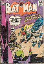Batman Comic Book #117, DC Comics 1958 GOOD+