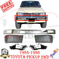 TO1004156 Bumper End Set for Toyota Pickup 1984-1986 New TO1005115