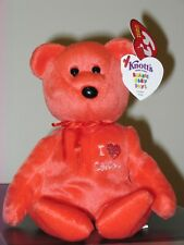 Ty Beanie Baby - I LOVE CALIFORNIA the Bear (Knott's Berry Farms Exclusive) MWMT
