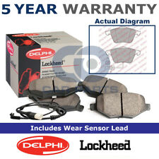Set of Front Delphi Lockheed Brake Pads For Audi A4 A6 Allroad A8 LP1922