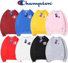 Champion Embroidered Hooded Women's Men's Long Sleeve Sweater Hoodie Sweatshirts