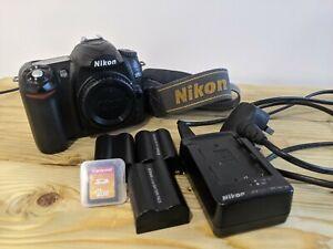 Nikon D D50 6.1MP Digital SLR Camera - Black (Kit w/ 18-55mm Lens)