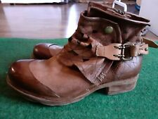 A.S 98 Airstep ankle boots buckle boots size eu37 us6.5 Uk4New