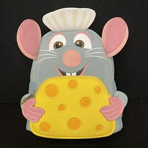 Loungefly Disney Pixar Ratatouille Chef Remy Mini Cosplay Backpack New In Hand