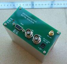 GPS DISCiPLINED CLOCK GPSDO 10MHz 10M OUTPUT SQUARE WAVE RS232 OUTPUT:GPS NMEA