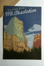 MT DESOLATION GREETINGS FROM SKY FORREST ART MUSIC 4x6 POSTCARD SM POSTER