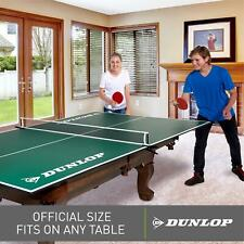 Table Tennis Conversion Top Ping Pong Official Size Assembled Folding Net 9 x 5'