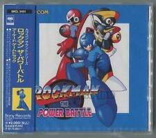 """ROCKMAN THE POWER BATTLE ARCADE GAME SOUNDTRACK""CAPCOM SAMPLE MUSIC CD NEW"