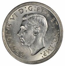 1939 Canada $1 Silver Dollar - ICCS MS63 - See Photos