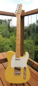 Vintage 1987 Fender Squier Telecaster Electric Guitar Made in Japan MIJ w/HSC