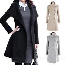 Regular Basic Coats & Jacketsof Cotton Blend for Women