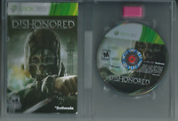 🔥🔥🔥 Dishonored (Microsoft Xbox 360, 2012) (Game & Manual Only) 🎮🎮🎮