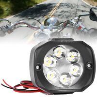 6 LED vélo électrique moto vélo vélo phare phare avant lumière de la lampe