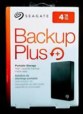 NEW Seagate Backup Plus 4tb Portable Hard Drive for Windows & MAC - SHIPS FREE!