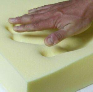 MEMORY Reflex 40 Foam Sheets Sofa Cushion seat pads custom cut to any size
