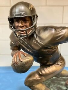 "Danbury Mint  -  Denver Broncos John Elway ..... ""Limited Edition"" Bronze Statue"