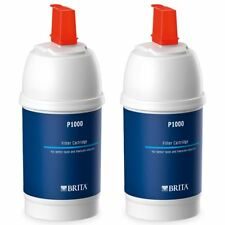 2 x BRITA P1000 Water Filter Refill Genuine Replacement Kitchen Tap Cartridges