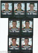 "2001 Teamcoach Silver ADELAIDE Team Set (7 Cards) "" """