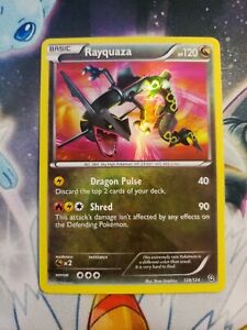 Rayquaza Dragons Exalted 128/124 Near Mint Holo Rare