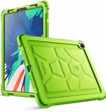 "Poetic For iPad Pro 11 2018 Silicone Case [TurtleSkin] ""Shockproof"" Cover Green"