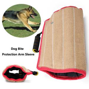 Jute Dog Bite Arm Sleeve For Training Dogs Guard Schutzhund Chewing  GHK!