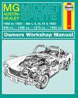 MG Midget & Austin-Healey Sprite (58 - 80) Haynes Repair Manual