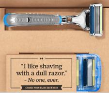 "Dollar Shave Club ""The Executive"" Razor 4x6-Blade Cartridges + Handle Ships FREE"