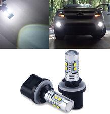 2x High Power 2400lm 880 899 50W 6000K Cree LED DRL Fog Light White Bulb For Car