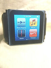 Apple iPod nano 6th Generation Blue (8 GB) + IWatchz Band N/R