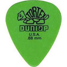 72-Pack Jim Dunlop Guitar Tortex Picks .88 mm Green Picks Standard 418R88