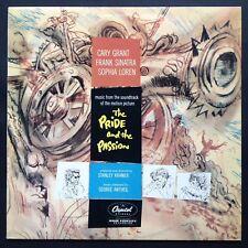 La fierté et la passion film soundtrack OST LP GEORGE AntheiI Loren-Grant-Sinatra