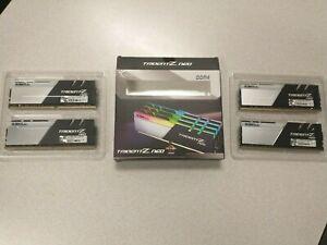 G.SKILL TRIDENT Z NEO SERIES 128GB (4 x 32GB) 288-Pin DDR4 SDRAM DDR4 3200 (PC4
