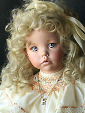 "Beautiful Porcelain *Hilary* by Dianna Effner & Michelle. 28"", Ooak Design"