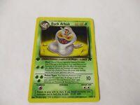 Dark Arbok 19/82 Team Rocket 1st Edition Pokemon Card PSA Mint Non Holo Misprint